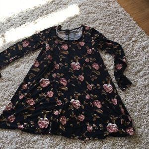 Forever 21 A-Line dress with flowers